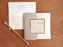 Kate & Craig Closed (dulynotedstationery) Tags: wedding stationery invite invitations