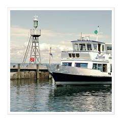 To reach port! (Splitti68) Tags: europa europe schweiz swiss stgallen ostschweiz rorschach schiff ship hafen port quadrat square rahmen splitti splitti68 splittstser splittstoesser farbverschiebung