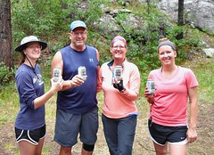 Steam Engine Lager ! (knutsonrick) Tags: beer steamworksbrewery steamenginelager hikers climbers durango colorado animasriver needletontrailhead dsng steamengine wisconsin knutson knutsons