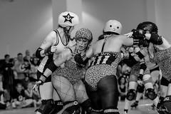 Chicks Ahoy! vs Gore Gore Rollergirls (goopie) Tags: battlefortheboot championship chicksahoy chronic derby downsviewpark flattrackderby goregorerollergirls pinkslamminade rollerderby rollerskates santamuerte thebunker tord torontorollerderby womensflattrackderby