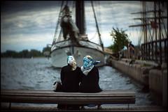 Sitting at the dock of the lake (Lens Bubbles) Tags: bokeh 100mm harbourfront f22 benoist vignette cinestar berthiot