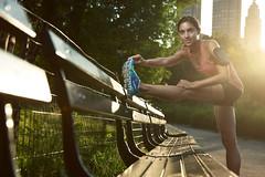 Anton Martynov PHOTOGRAPHY (Sneaky Russian) Tags: park new york nyc newyork girl yoga umbrella photography model nikon photoshoot central run stretch bark anton fitness d800 martynov