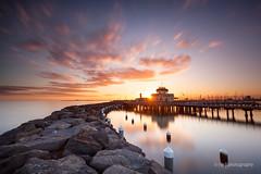St Kilda Pier (.njep) Tags: longexposure sunset seascape australia melbourne victoria stkilda stkildapier canon5dmkii leebigstopper canon1635mmf4