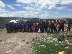 FPC Honduras missions team ministers at landfill 6/16/16