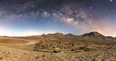 La luz de la noche (Jalpez) Tags: longexposure parque panorama night stars noche estrellas tenerife teide nacional milkyway vialactea