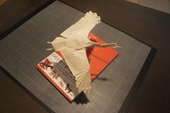 Crane - Satoshi Kamiya (Juanfran Carrillo) Tags: paper origami crane papel papiroflexia satoshi grulla kamiya