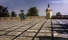nell terazzo del castello di Catajo (paolotrapella) Tags: italy castle canon eos castello fotografo catajo