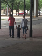 "Daddy and Mommy Walk with Paul to the Perot Science Museum in Dallas • <a style=""font-size:0.8em;"" href=""http://www.flickr.com/photos/109120354@N07/27754786152/"" target=""_blank"">View on Flickr</a>"