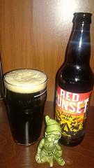 mmmm....beer (jmaxtours) Tags: ontario beer collingwood ale mmmmbeer redsunset redale irishale collingwoodontario northwindsbrewhouse redsunsetirishale