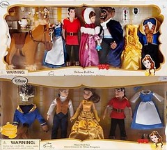 New Disney Beauty and the Beast Doll Sets (DisneyBarbieCollector) Tags: beauty set toys store doll dolls disney belle beast collectibles gaston