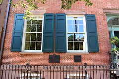 StuyvesantSt (11) (ShellyS) Tags: nyc newyorkcity eastvillage buildings reflections manhattan greenwichvillage