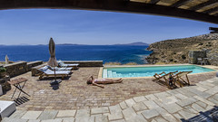 Summer is coming (__Tristan__) Tags: blue sea summer house swimmingpool greece grece naxos ete