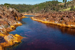 Colores del Rio Tinto... (protsalke) Tags: water colors flow rocks andalucia special tinto oxides