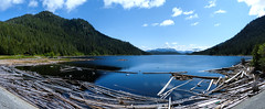 Diana Lake  {Explored} (Garry9600) Tags: panorama lake canada mountains landscape outdoor britishcolumbia explore stitched 1000views dianalake cans2s fz200