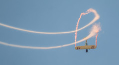 QIAS 2016 - Backflip! (Jay:Dee) Tags: kent pietsch airshows interstate cadet aerobatics flight flying aviation 2016 qias quinte international air show airshow cfb trenton candian forces base
