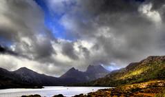 CRADLE MOUNTAIN Shrouded in Mist (elliott.lani) Tags: clouds skies view allrightsreserved naturephotography cradlemountain scenictasmania elliottlani lanielliott