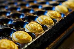 Dutch mini pancakes (Wijnand Kroes Photography) Tags: dutch pancakes baking mini tray