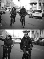 [La Mia Citt][Pedala] (Urca) Tags: portrait blackandwhite bw bike bicycle italia milano bn ciclista biancoenero bicicletta 2016 pedalare dittico 85565 ritrattostradale nikondigitalemir
