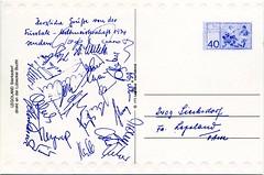 WM Mannschaft 1974 Unterschriften (legorossi) Tags: lego soccer wm legoland sierksdorf diemannschaft