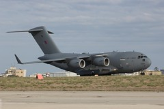 Boeing C-17A Globemaster III RAF ZZ176 pictured arriving at Malta International Airport (Jeroen.B) Tags: airport flickr force air iii royal malta airshow international 99 mia c17 boeing globemaster raf mla 2015 c17a lmml zz176 malta2015 50191f190uk6