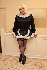 Sissy French Maid (kellyuk99) Tags: sissy maid