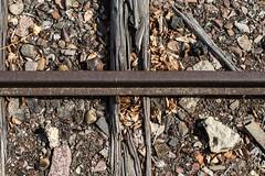 one way (shirou@visualrupture) Tags: crossroads rails rail railway train trainstation way ways old deteriorate unused lost rotten