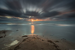 Beach_ (JLindroos) Tags: ocean sunset sea sun seascape clouds zeiss canon finland big sand colorful long exposure wind horizon lee filters stopper pori yyteri jlindroos