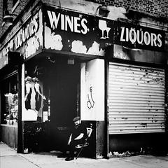 Zelig (ShelSerkin) Tags: street nyc newyorkcity portrait blackandwhite newyork candid streetphotography squareformat gothamist iphone mobilephotography iphoneography shotoniphone hipstamatic shotoniphone6