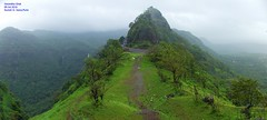 Panorama 10 (Prof.Suresh G. Isave) Tags: varandha onedaytrek tourists attractions near pune maharashtratourism monsoon spots rainy bhor