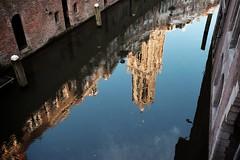 Vismarkt Utrecht (NL), Fuji X-E2 + XC16-50 (patrick van den hurk) Tags: reflection church netherlands utrecht domtoren raw fuji silkypix fujix xe2 fujixseries xc1650 xc1650mmf3556ois fujixe2