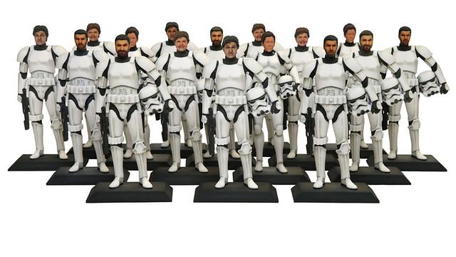 迪士尼個人碳化服務再升級!這次還能變成帝國白兵!!!
