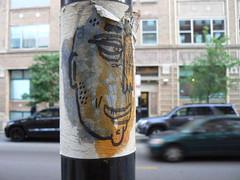 dont fret slap peelin (httpill) Tags: streetart chicago art graffiti sticker tag graf dont slap fret slaptag