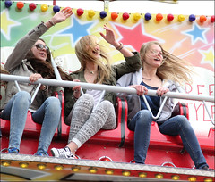 Fair Hair (Emil de Jong) Tags: girls girl fair kermis meisjes