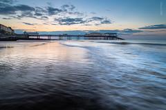 Cromer sunset surf (Deviant Light) Tags: sunset beach coast pier nikon surf norfolk east northsea cromer d800 anglia leefilters recedingtide tamronspaf1735284dildasphericalif