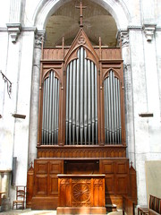 Vienne, Cathdrale Saint-Maurice, organ (pierremarteau) Tags: cathdrale organ vienne orgel orgue isre rhnealpes saintmaurice