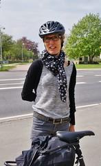 Tina (osto) Tags: people woman bike bicycle denmark europa europe sony bicicleta zealand bici tina dslr scandinavia danmark velo fahrrad vlo rower cykel a300 sjlland  osto alpha300 osto may2013 fietssykkel