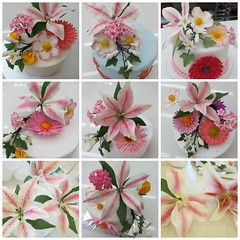 Wilton 4-Advanced Gumpaste Flowers (Mongstirs) Tags: flowers rose star 4 blossoms course step lilies briar gerberas advanced wilton gumpaste gazer