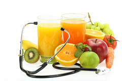 Healthy eating. Fruits, vegetables, juice and stethoscope (Holistica Resort) Tags: food orange apple nature glass fruits fruit juicy lemon healthy raw heart natural drink eating juice background fresh medical pharmacy health meal grapefruit medicine concept diet care kiwi fitness protection examine exam cure prevention grape currency isolated stethoscope freshness protect nutrition treatment diabetes cardiac examination auscultation cardiologist
