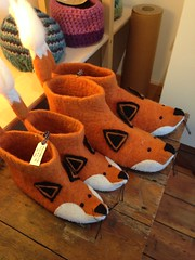 Pretty thing (yumtan) Tags: family tree london shop fox slipper