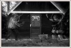 Winning mood (Jenny!) Tags: door blur blackwhite tennis photomontage score winning jennydegroot degeuzs coproductionwithgodesinge