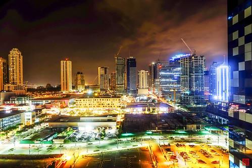 Night at Bonifacio Global City by Daniel Y. Go, on Flickr