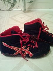 Asic Aggressors side view (Dick6Navis) Tags: shoes wrestling asic wrestlingshoes aggressors