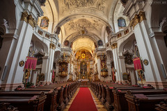 Monastery Church in Drnstein (Miroslav Petrasko (blog.hdrshooter.net)) Tags: camera travel blue color church digital canon lens effects photography eos austria photo blog high europe dynamic image cloudy monastery rainy software processing multiple 5d imaging inside dslr range hdr hdri blend decorated miroslav exposures bracketing 1635 durnstein photographyblog photoglog theodevil hdrshooter petrasko miroslavpetrasko hdrshooternet