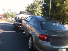 incidente de hoy con el auto :(