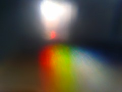 Rainbow on Camera lense. (te_mur) Tags: camera sunlight rainbow samsung 7 seven lense flickrandroidapp:filter=none