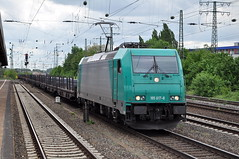 185 617 Hamm 11.05.2013 (hansvogel51) Tags: train germany private deutschland eisenbahn hamm bombardier traxx vps br185 eloks