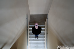 239/365 - Day Two Hundred Thirty-nine of Three Six Five (Just a guy who likes to take pictures) Tags: city portrait urban selfportrait man holland color colour male me netherlands dutch stairs self project myself concrete glasses europa europe stair year colorphotography bald nederland thenetherlands wideangle moi jonne days treppe staircase holanda tage 365 nl railing monday portret ich paysbas zelfportret ik trap flevoland stad bril beton selfpic zelf jaar almere niederlande selfie kaal flevo kleur maandag dagen mij wideangel montag glatze colourphotography trappenhuis vogelperspectief projecten groothoek ishotmyself project365 threesixfive i project365days kleurenfotografie 365dagen