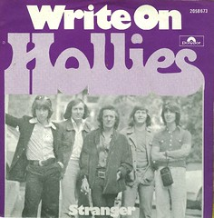 46 - Hollies, The -  Write On - NL - 1975 (Affendaddy) Tags: holland 1974 stranger polydor thehollies writeon vinylsingles collectionklaushiltscher 1960sbeatandpop 2058673