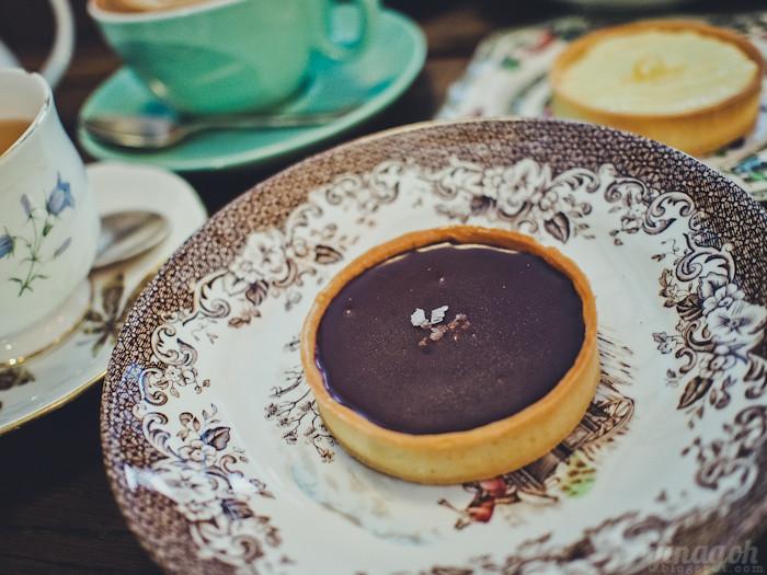 Carpenter & Cook Chocolate Caramel Tart