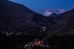 The High Atlas at night (Shelbypoppit) Tags: life africa street city longexposure light portrait snow mountains landscape photography market northafrica muslim spice working culture morroco busy atlasmountains berber maroc atlas marrakech souk medina marrakesh souks smelly marroc riad highatlas low cinamon imlil light